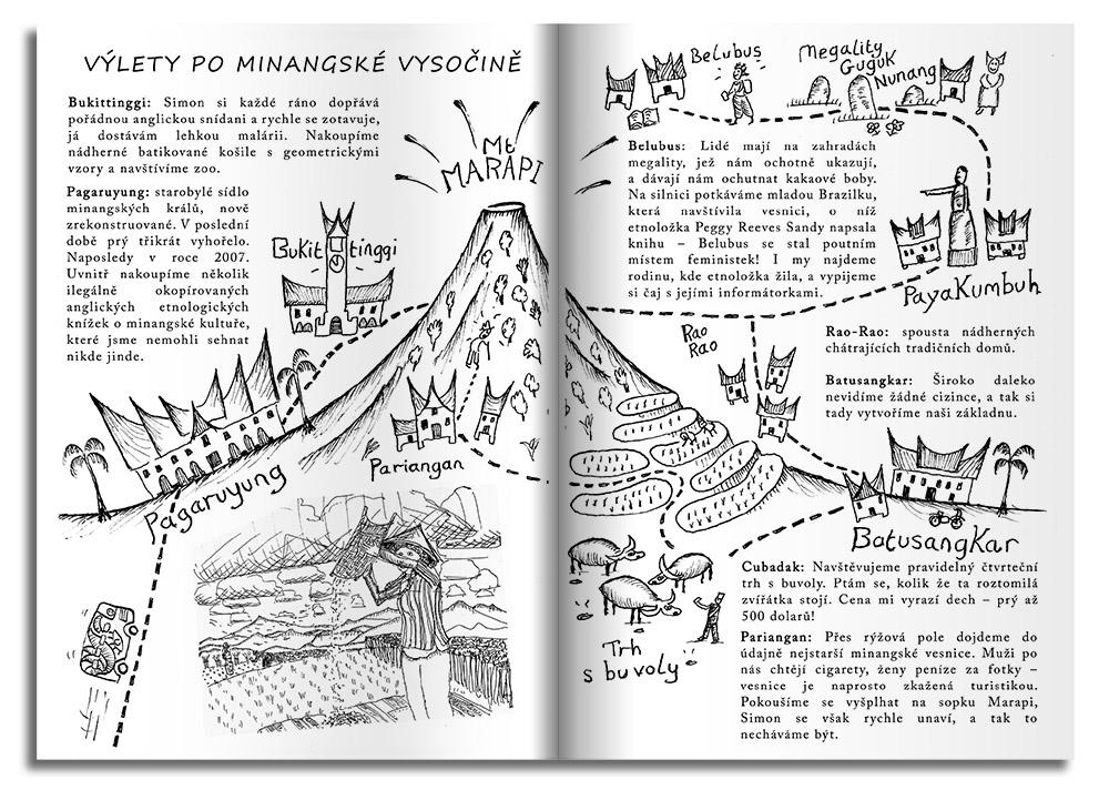 Minang Page spread