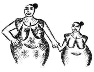 Venuse s dcerou