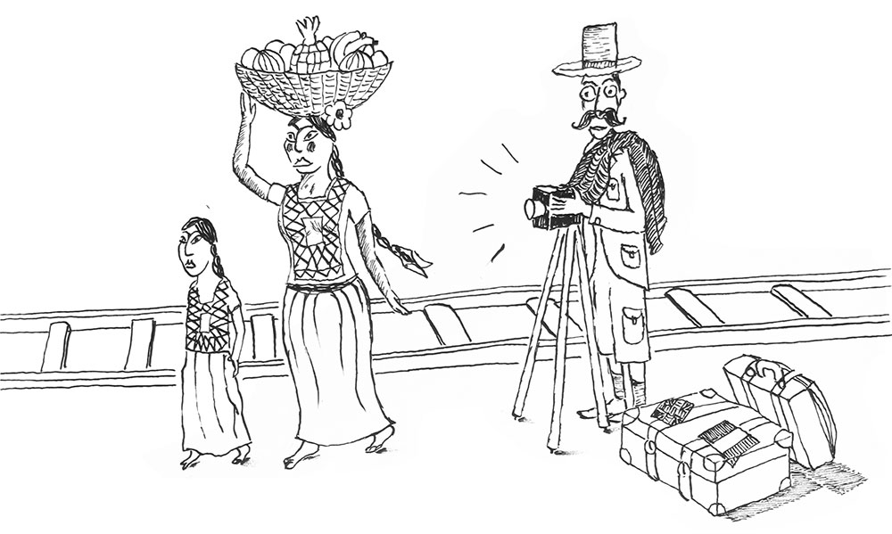 Tehuana a Brit