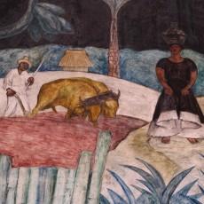 Diego Rivera a božské Tehuány